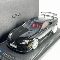 1806BK, 1/18 scale TOYOTA LFA Nurburgring Package Black