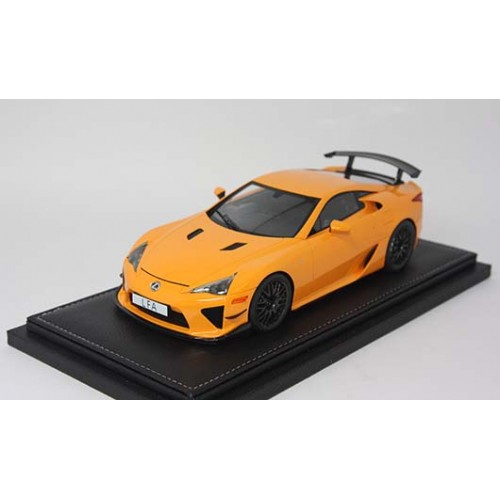 1806OR, 1/18 scale TOYOTA LFA Nurburgring Package Orange 1806OR