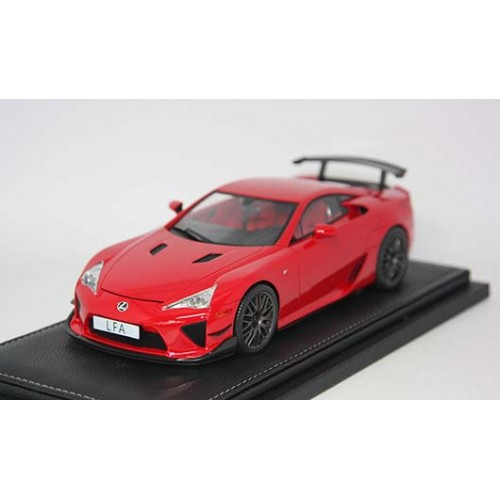 1806RE, 1/18 scale TOYOTA LFA Nurburgring Package Red