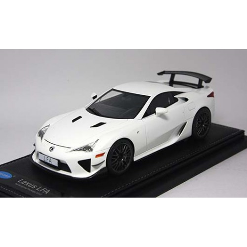 1806WH, 1/18 scale TOYOTA LFA Nurburgring Package White