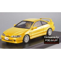 31900, 1/43 Scale Honda INTEGRA Type R 1995 (DC2) Sunlight Yellow (Customized Color Version)