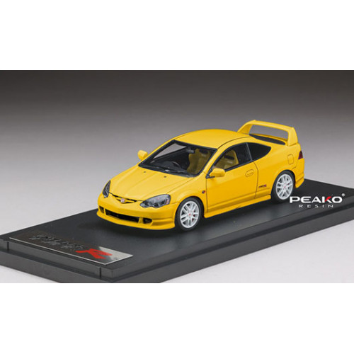 31901, 1/43 scale Honda INTEGRA Type R (DC5), Sunlight Yellow (Customized Color Version)