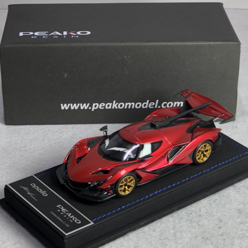 32912, 1/43 scale Apollo Automobil Apollo IE, F1 Red