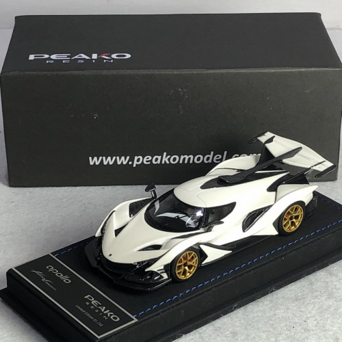 32917, 1/43 scale Apollo Automobil Apollo IE, Pearl White