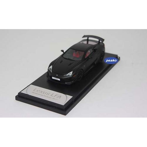 4306MB, 1/43 scale TOYOTA LFA Nurburgring Package Matte Black