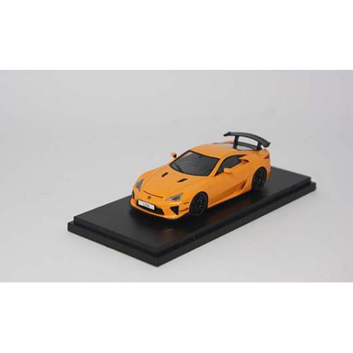 4306OR, 1/43 scale TOYOTA LFA Nurburgring Package Orange