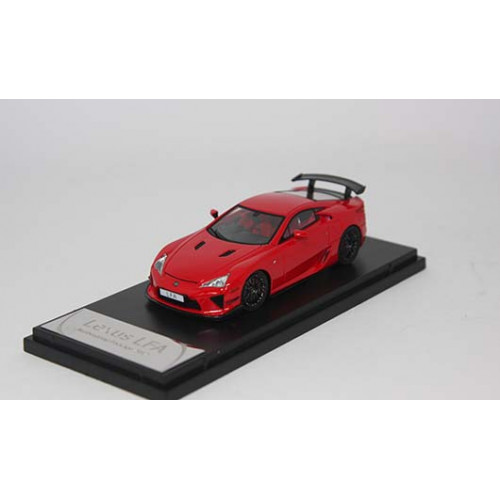 4306RE, 1/43 scale TOYOTA LFA Nurburgring Package Red