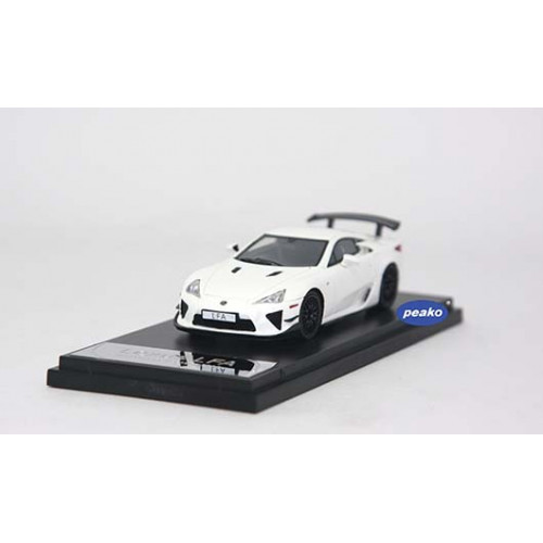4306WH, 1/43 scale TOYOTA LFA Nurburgring Package White