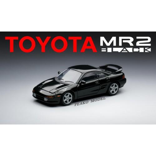 62400, 1/64 Toyota MR2 SW20 1996 Black Color