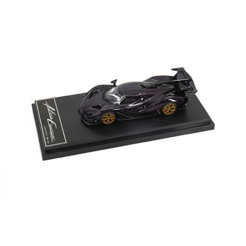 62905, 1/64 scale Apollo Automobil Apollo IE, Purple Carbon