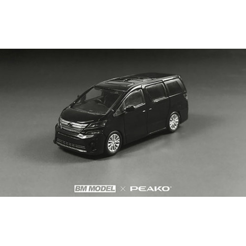 63300, 1/64 scale Toyota Vellfire 3.5Z Golden Eyes II 2013, Black