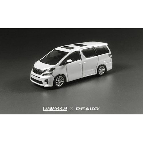 63301, 1/64 scale Toyota Vellfire 3.5Z Golden Eyes II 2013, White