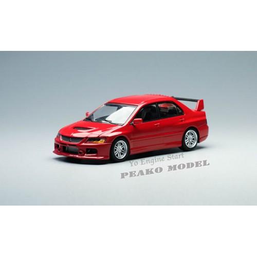 63501, 1/64 Mitsubishi 2006 Lancer Evolution IX, Red