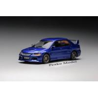 63507, 1/64 Mitsubishi 2006 Lancer Evolution IX, Blue