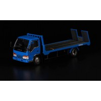 63503, 1/64 Yes x Peako Flatbed Tow Truck, Blue
