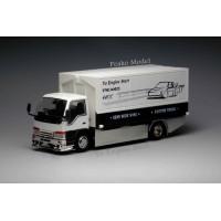 63505, 1/64 Yes x Peako Semi Wide Wng Custom Truck, White