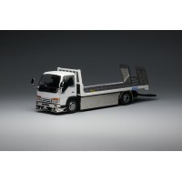 63510, 1/64 Yes x Peako Flatbed Tow Truck, White Version 2