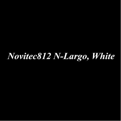 63700, 1/64 scale Novitec812 N-Largo, White