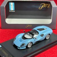 63801, 1/64 De Tomaso P72, De Tomaso Blue