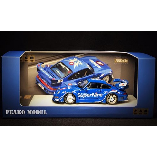 63900A, 1/64 RWB 993 SuperNine (in rectangle marble stand)