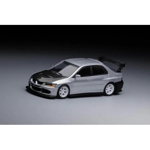 64100, 1/64 Mitsubishi 2006 Lancer Evolution VIII, Silver