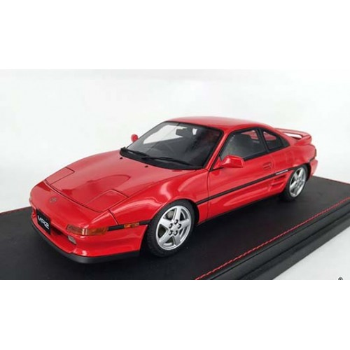 82400, 1/18 scale TOYOTA MR2 SW20 1993 Revision 2, Super Red