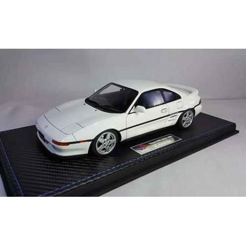 82401, 1/18 scale TOYOTA MR2 SW20 1993 Revision 2, Super White