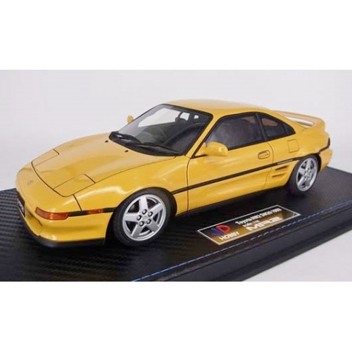 82403, 1/18 scale TOYOTA MR2 SW20 1993 Revision 2, Yellow