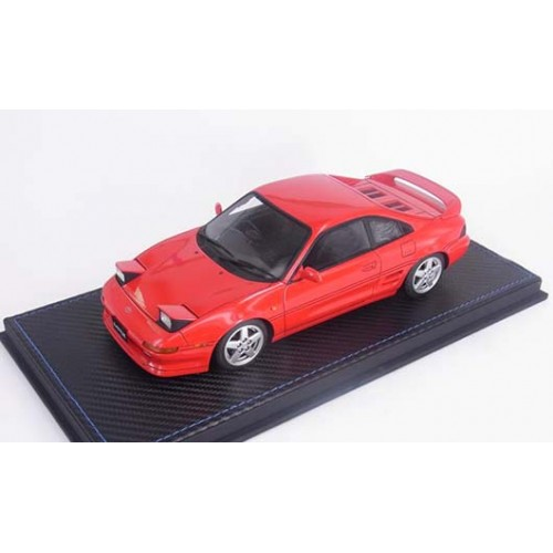82404, 1/18 scale TOYOTA MR2 SE20 1995 Revision 3, Red