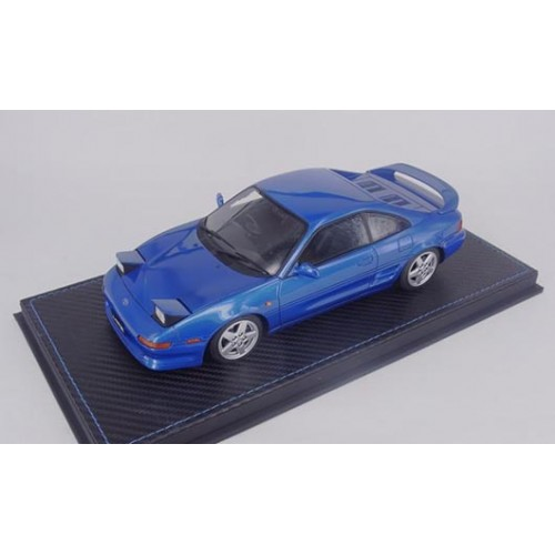82405, 1/18 scale TOYOTA MR2 SE20 1995 Revision 3, Azure Blue