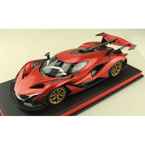 82912, 1/18 scale Apollo Automobil Apollo IE, F1 Red