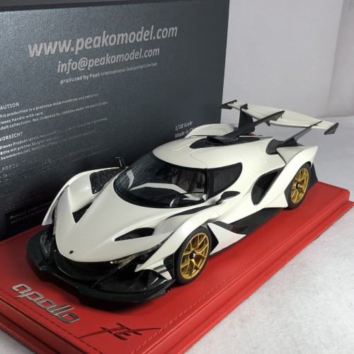 82917, 1/18 scale Apollo Automobil Apollo IE, Pearl White
