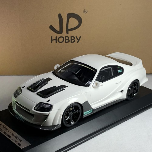 83201, 1/18 scale Varis Supreme Supra JZA80, White