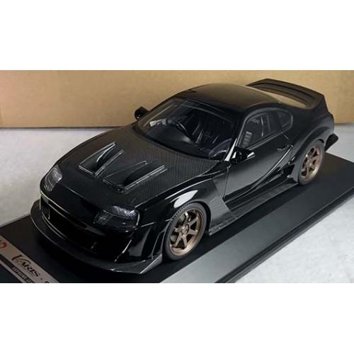 83203, 1/18 scale Varis Supreme Supra JZA80, Black w/carbon bonnet