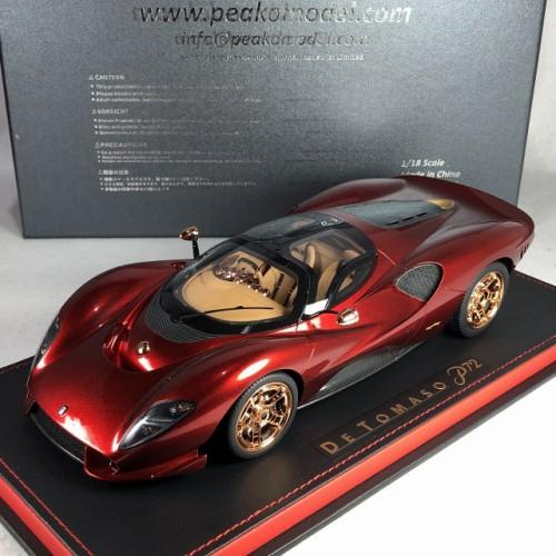 83800, 1/18 scale De Tomaso P72, Soul Red