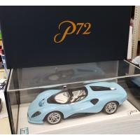 83801, 1/18 scale De Tomaso P72, Blue (Dealer Version)