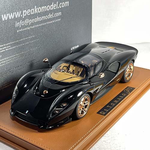 83802, 1/18 scale De Tomaso P72, Black
