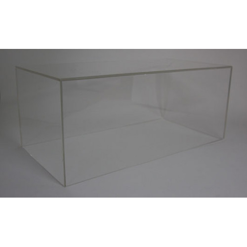 98002, Transparent Cover for 1/18 peako model suede base