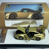 PGM-640308, 1/64 RWB 993 Fully-Open Gold Color